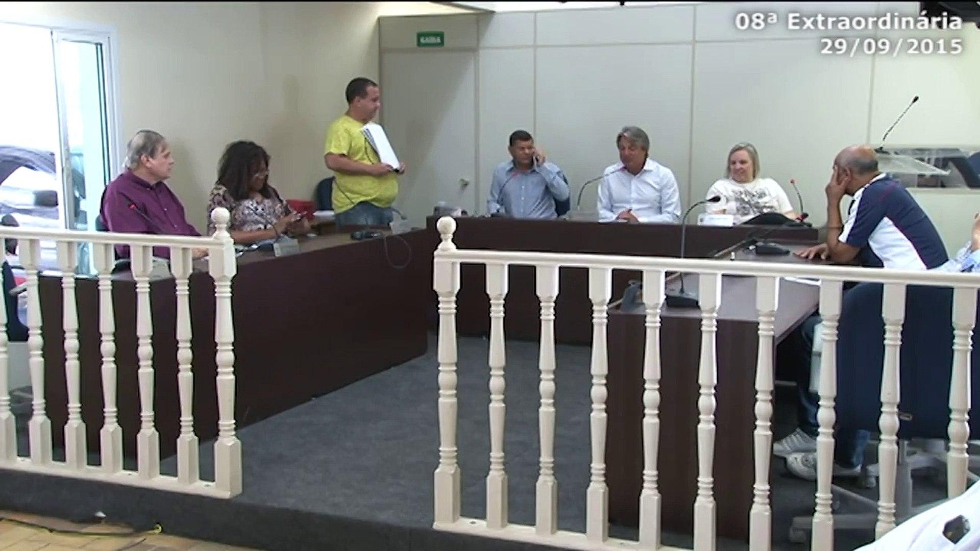 TV Câmara - 08ª Sessão Extraordinária da Câmara de Bertioga - 29/09/2015