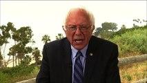 "Bernie Sanders talks ""dumb"" Democratic primary process, nixed Trump debate"