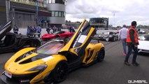 INCREDIBLE HYPERCARS LINE UP & SOUNDS - P1 GTR, LaFerrari, 918, P1, Veyron, Agera R!