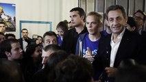 Soirée de lancement des jeunes avec @NicolasSarkozy - discours surprise de Nicolas Sarkozy