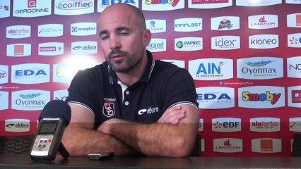 Rugby Top 14 - Johann Authier après Oyonnax - Castres