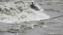 Pau. Canoé-kayak extrême sur le gave
