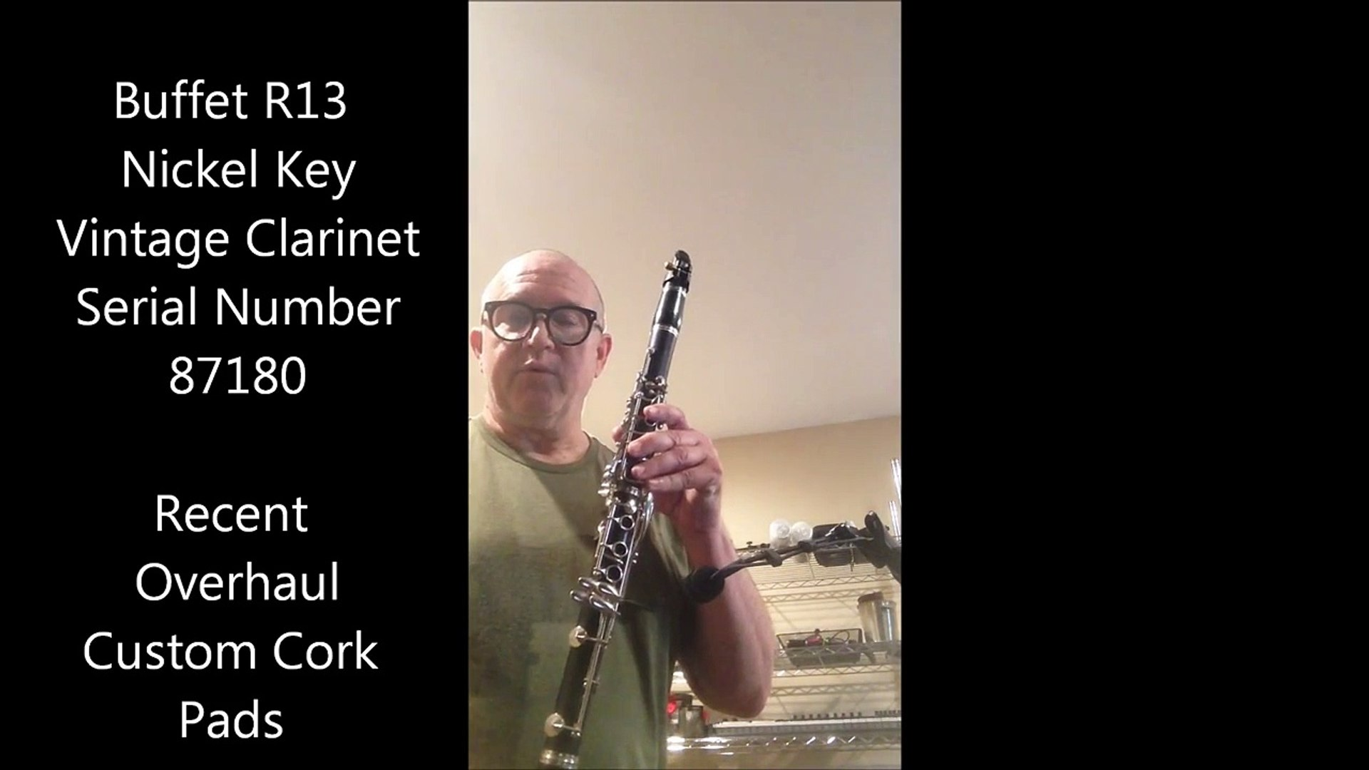 Groovy Buffet R13 Vintage Clarinet For Sale Complete Professional Overhaul Interior Design Ideas Gresisoteloinfo