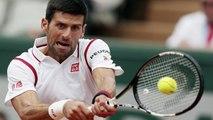 French Open Second Round Novak Djokovic Beats Steve Darcis