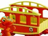 Dino Train Dinosaure Train Buddy avec véhicule train jouet pour les enfants