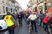 Bordeaux : manifestation contre la réforme des retraites