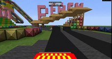Minecraft Mario Kart GBA Peach Circuit (Mario Kart 8 Version)