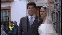 Charlotte Wellesley y Santo Domingo se casan bajo la lluvia en España