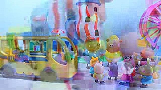 свинка пеппа Peppa Pig Набор Fresh Fruit  Play Doh Мультфильм с игрушками