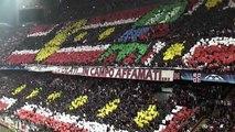 AC Milan - supporters, choreos, ultras 2012