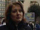 Manifestation des taxis à Bordeaux