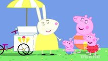 Peppa Pig Very Hot Day Mister Skinny legs Series 1 Episode 35