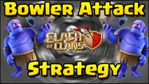 Clash of Clans - NEW DARK TROOP - BOWLER- 30 MAXED LEVEL BOWLERS IN ATTACK | COCs