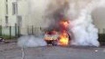 Un incendie de voiture à Cenon (33)