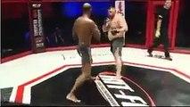 Denis Stojnic KO's Christian Tonton M'Pumbu in R2 to become HIT FC heavyweight champion