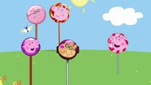 Finger Family Peppa Pig Lollipops Nursery Rhymes Song