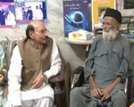 SINDH CHIEF MINISTER SYED QAIM ALI SHAH  ENQUIRING ABOUT HEALTH OF RENEWED ABDUL SATTAR EDIHI. 29-05-2016