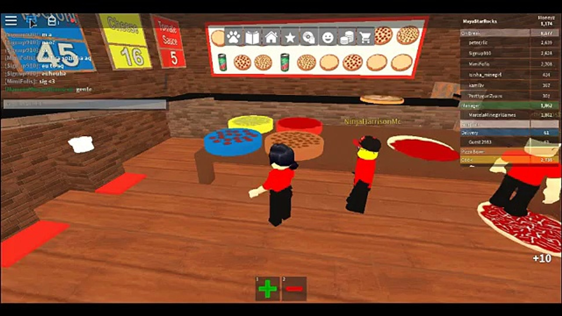 I Got A Job At The Pizza Place Ll Roblox Gameplay Part 1 W