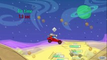 Gameplay for kids. Cars cartoons for kids. Racing Cars. Track with obstacles. Tiki Taki Games