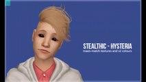 The Sims 2 Pack De Cabelos Masculinos