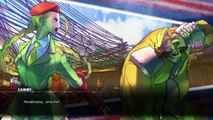 Street Fighter V - CAMMY - Story Mode (NORMAL)