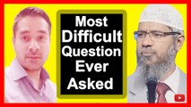 Most Difficult Question Ever Asked To Dr Zakir Naik Question and Answer Session Dubai Dr. Zakir Naik