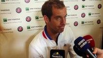 """Roland-Garros 2016 - Richard Gasquet : """"Tout donner pour battre Andy Murray"""""""