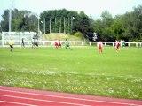 But de Vincent GOUPIL (Demi-finale de Coupe de Département) Victoire 3-1