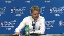 Warriors Postgame Interview - Warriors vs Thunder - Game 6 - May 28, 2016 - 2016 NBA Playoffs