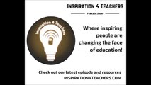 Inspiration 4 Teachers Podcast Ep.29: Summer Bonus: Unlocking creativity in your classroom
