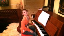 """Lea A.J.P. Lane is 8 years young and loves to play the piano -  She plays here the """"Maple Leaf Rag"""" von Scott Joplin"""