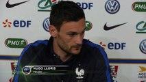 Bleus - Lloris : ''Il y a des absents, des malheureux...''