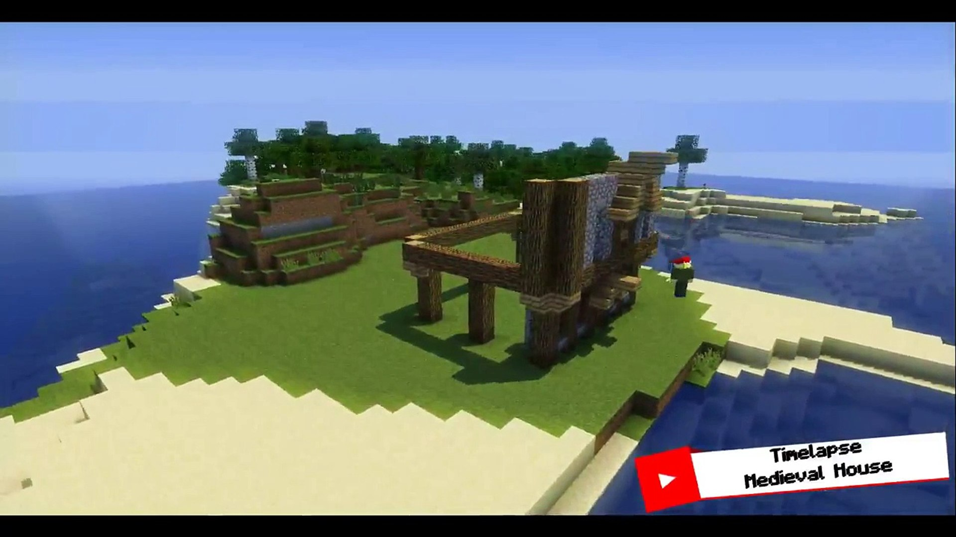 Minecraft Medieval House Timelapse V 1 8 9 Video Dailymotion