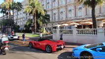 Cannes Insane Summer Supercars & Hypercars Parkings!