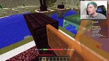 DanTDM Minecraft | GWEN THE MEAN GUARDIAN!! | Speed Builders Minigame