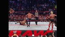 Ric Flair & Batista vs. Chris Benoit & Edge: Raw, April 19, 2004