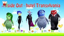 Finger family song Inside out Hotel Transylvania #1 ♫ Finger family nursery rhymes