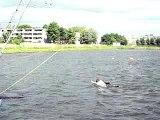 Wakeboarden ROC Flevoland Sport & Bewegen 15 juni 2010