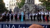 Serbian Folk Dance - Folk Fest Budapest, 2014 June 17