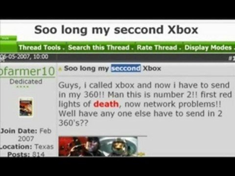 XBOX 360 song [VOSTFR]