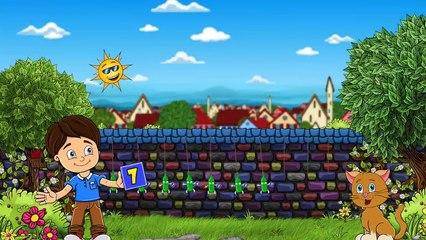 10 butelek zawieszonych jest - Piosenki dla dzieci bajubaju.tv
