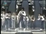 """Apologies for the poor picture quality, but this clip of Michael jackson tapdancing with the Nicholas Brothers is mindblowing. As seen in Spike Lee's excellent documentary """" Michael Jackson's Journey from Motown to Off the Wall."""""""