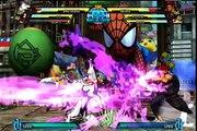 Marvel vs. Capcom 3 (Magneto/X-23/Amaterasu) vs. (Akuma/Wolverine/Haggar)