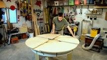 Cela ressemble à une table ronde ordinaire...mais attendez de voir ce que l'on peut faire avec !