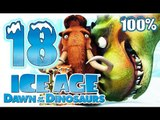 Ice Age 3: Dawn of the Dinosaurs Walkthrough Part 18 ~ 100% (PS3, X360, Wii, PS2, PC) Level 18