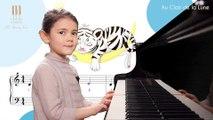 Apprendre à jouer au piano Au clair de la lune dès 4 ans - Cours n°5