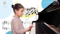 Apprendre à jouer au piano Au clair de la lune :  cours n°8