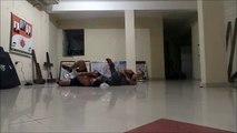 Treino com Neyson  Davi Borges self defense coach WyngTjun Wing Chun Belém Brasil Brazil