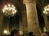Рождество 24 decembre 2007 собор Notre Dame de Paris