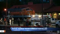 Authorities: Conductor Run Over By Train After Falling On Tracks